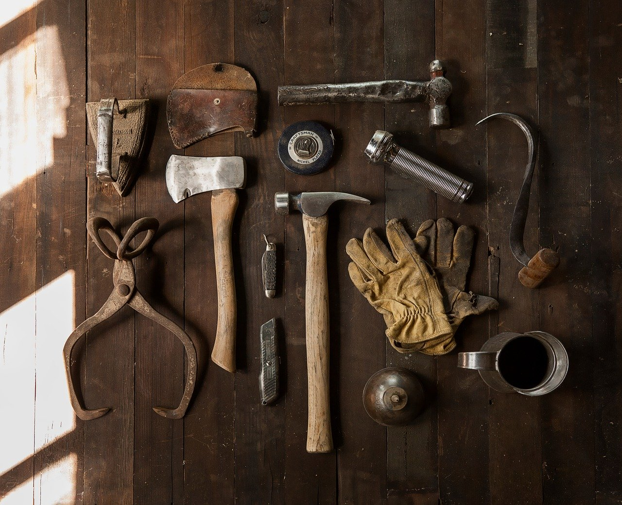 Tools to be used